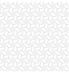 geometry of weave hexagon vector image