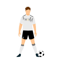 germany football jersey national team world cup vector image