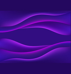 liquid gradient wave modern abstract background vector image