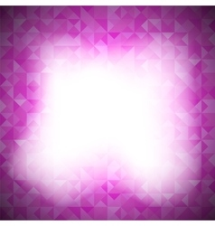 Pink Background with Geometric Triangles vector