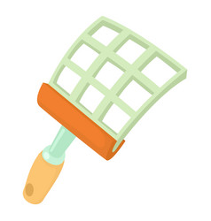 Swatter icon cartoon style vector