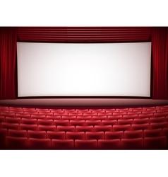 Cinema theater vector