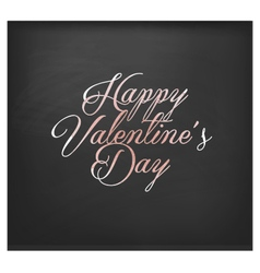 Valentines Day Vintage Greeting Card Elements vector image vector image