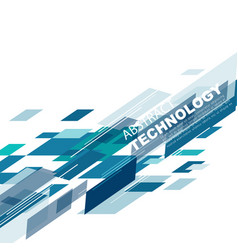 abstract technology background futuristic concept vector image