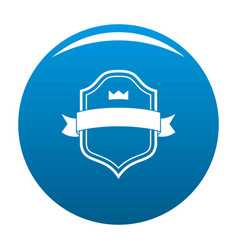 badge best quality icon blue vector image