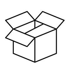Box deposit object vector