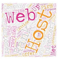 How to find a web host text background wordcloud vector