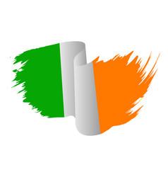 Ireland flag symbol icon design irish flag color vector