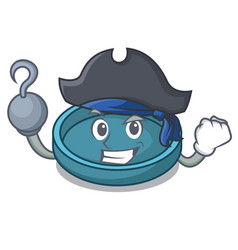 Pirate ashtray character cartoon style vector