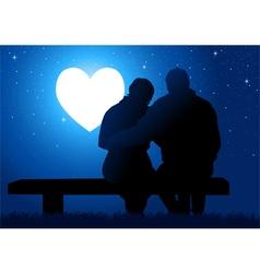 Romantic Moment vector
