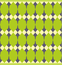 Tile green and grey pattern or website wallpaper vector
