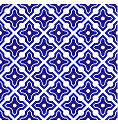 chinese blue and white vector image
