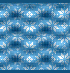 Christmas seamless pattern nordic style ornament vector