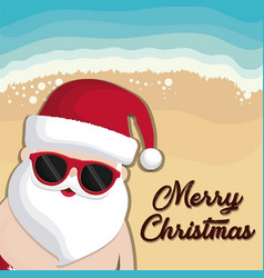 christmas vacations design vector image
