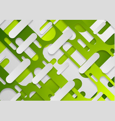 Green abstract geometric corporate concept vector