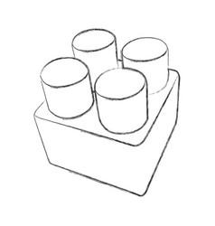 image of a detail of designer vector image