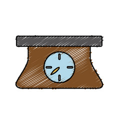 Scale device icon vector
