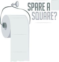 Spare a square vector