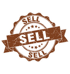 sell stamp sign seal vector image vector image