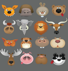 cartoon animals vector image