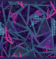 abstract seamless pattern for girls boys vector image
