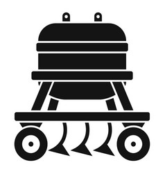 Agricultural equipment icon simple style vector