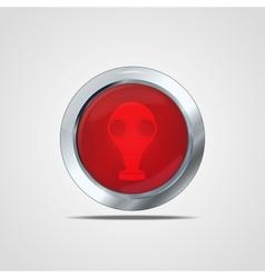 Biohazard icon vector image
