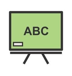 Classroom Board vector