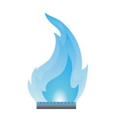 Fire burn flamme vector