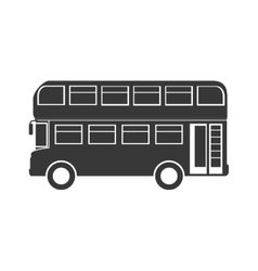 London city bus vector