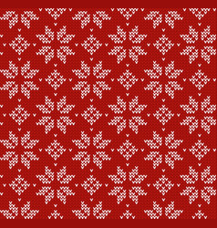 Nordic style ornament pullover style pattern vector