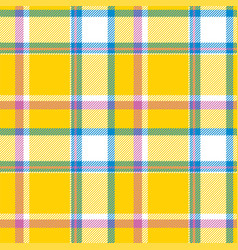 Tartan scotland seamless plaid pattern retro vector