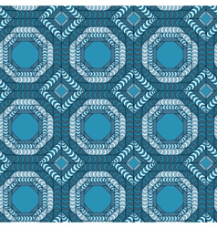 Abstract seamless pattern with a trellis structure vector image vector image
