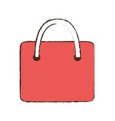 drawing bag gift paper shop online symbol vector image