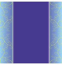 Invitation or greeting card luxury background vector image
