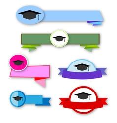 congratulation banner vector image vector image