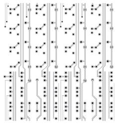 network scheme vector image vector image