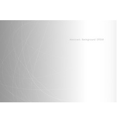 abstract line overlap on gray light background vector image