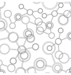 Abstract science background Polygonal vector