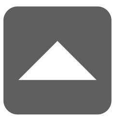 Arrowhead Up Flat Squared Icon vector