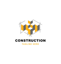 Construction logo design symbol templatear vector