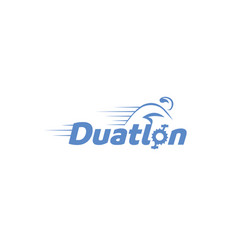 duatlon-logo vector image