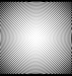 high density spiral halfotne effect black vector image
