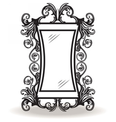 Vintage ornamented frame vector image