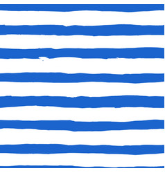 watercolor blue stripes background vector image