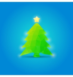 Christmas Tree New Year vector image vector image