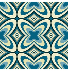 Retro Wallpaper Abstract Seamless Pattern vector image