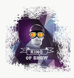 Snowboard icon design vector image