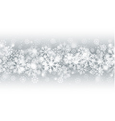 blurred motion falling snow blizzard effect vector image