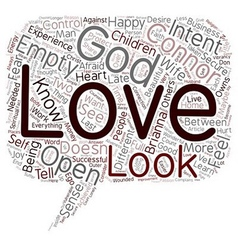 Do You Experience God text background wordcloud vector